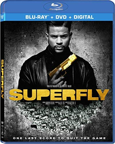 Superfly (2018) Jackson Mitchell Davis Blu Ray DVD Dc R
