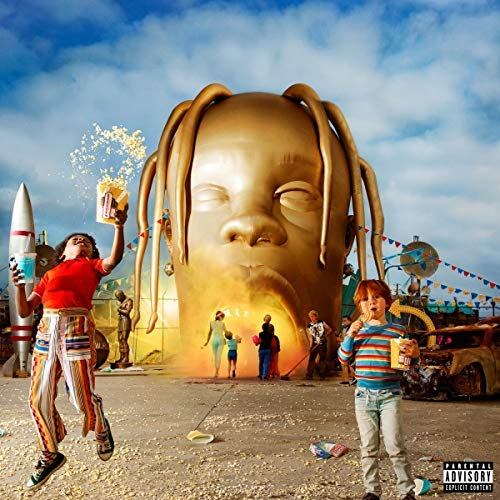Travis Scott Astroworld 2 Lp 150 Gram Black Vinyl