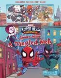 Derek Laufman Marvel Super Hero Adventure Spider Man A Tangled Web