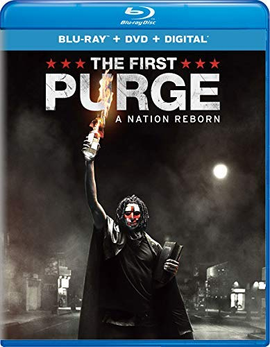 The Purge First Purge Noel Davis Blu Ray DVD Dc R