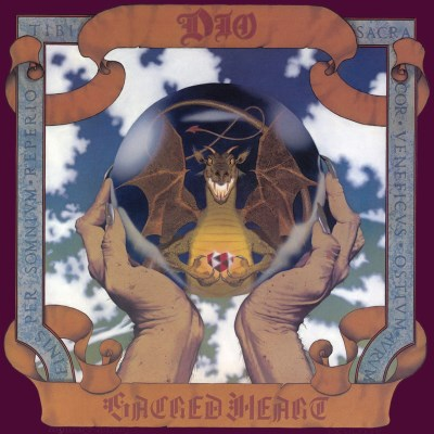 Dio Sacred Heart (remastered) Clear Lp Rocktober 2018 Exclusive