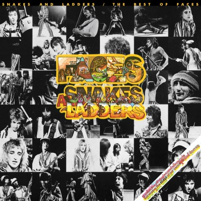 Faces Snakes & Ladders The Best Of Faces (clear Vinyl) Clear Lp Rocktober 2018 Exclusive