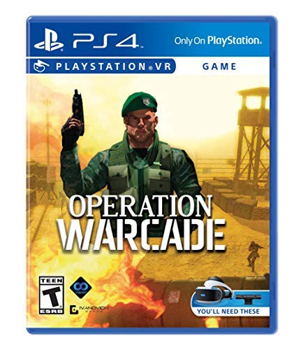 Ps4vr Operation Warcade ***requires Playstation 4 Vr***