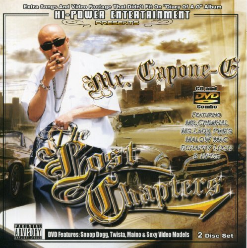 Mr. Capone E Mr. Capone E The Lost Chapters Explicit Version Incl. Bonus DVD