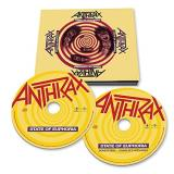 Anthrax State Of Euphoria 2 CD 30th Anniversary Edition