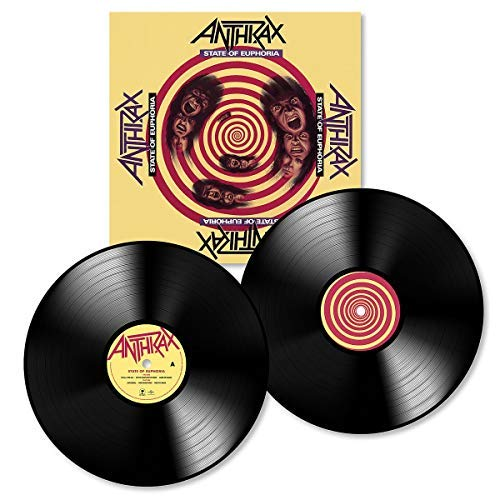 Anthrax State Of Euphoria 2 Lp 30th Anniversary Edition 180 Gm Vinyl