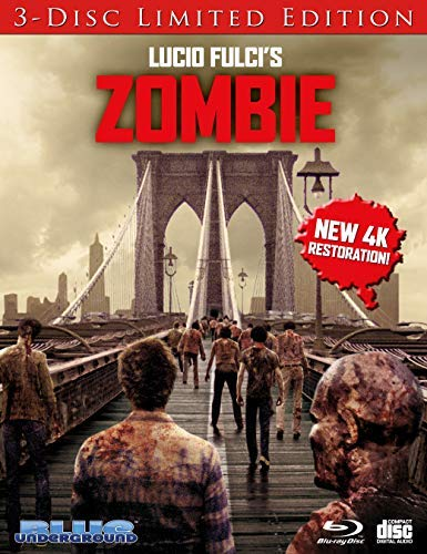 Zombie Farrow Mcculloch Johnson Blu Ray CD (bridge Cover) R