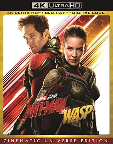Ant Man & The Wasp Rudd Lilly 4khd Pg13