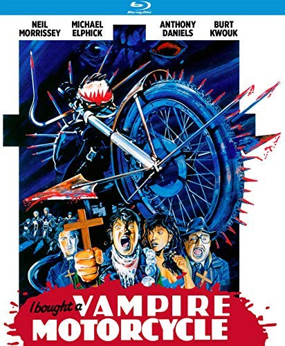 I Bought A Vampire Motorcycle Morrissey Daniels Blu Ray Nr