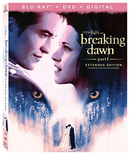Twilight Breaking Dawn Part 1 Pattinson Stewart Blu Ray Pg13 10th Anniversary Edition