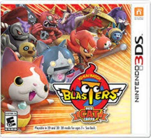 Nintendo 3ds Yo Kai Watch Blasters Red Cat Corps