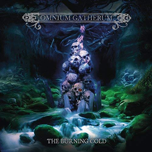 Omnium Gatherum Burning Cold (180g Transparent Blue Vinyl) 180g Vinyl Transparent Blue Vinyl 2 Lp 1 CD