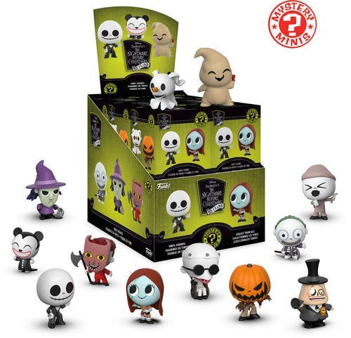 Mystery Minis Nightmare Before Christmas Blind Boxed Figure 12 Display