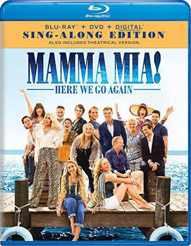 Mamma Mia: Here We Go Again/Seyfried/Streep/James@Blu-Ray/DVD/DC@PG13
