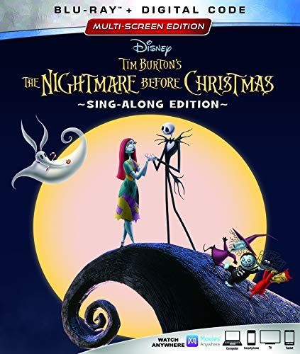 Nightmare Before Christmas Nightmare Before Christmas Blu Ray Pg 25th Anniversary