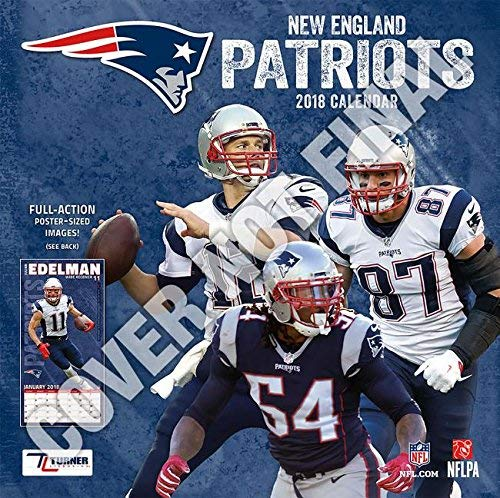 Wall Calendar 2019 New England Patriots