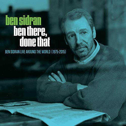 Ben Sidran Ben There Done That Live Around The World 1975 2015 3cd Deluxe Packaging