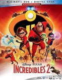 Incredibles 2 Incredibles 2 Blu Ray DVD Dc Pg