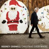 Rodney Crowell Christmas Everywhere Split Green And Red Vinyl