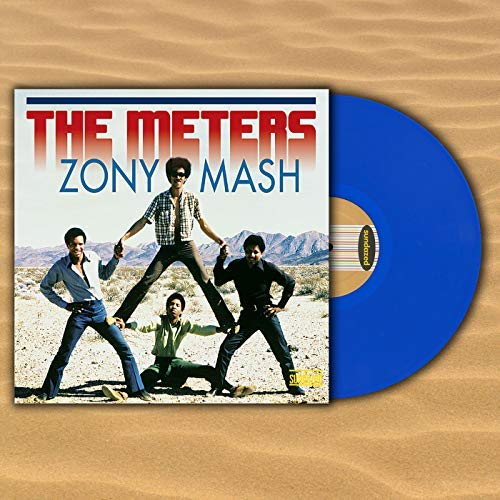 The Meters Zony Mash Blue Vinyl