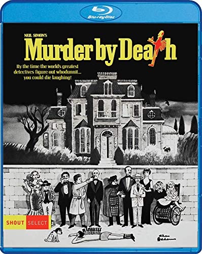 Murder By Death Guiness Falk Blu Ray Pg
