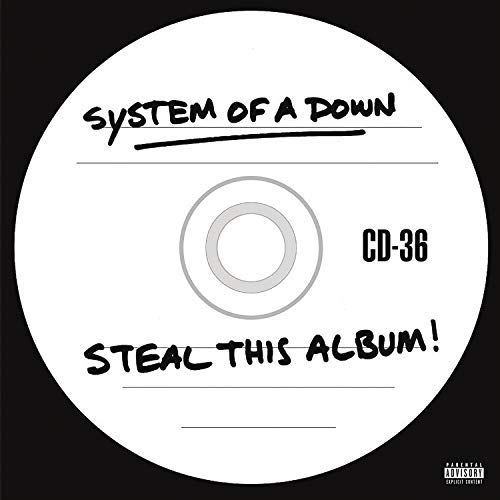 System Of A Down Steal This Album 2 Lp 140g Vinyl