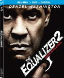 Equalizer 2 Washington Pascal Sanders Blu Ray DVD Dc R