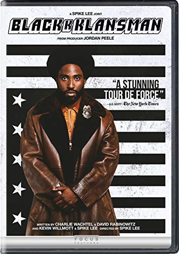 Blackkklansman Washington Driver DVD R