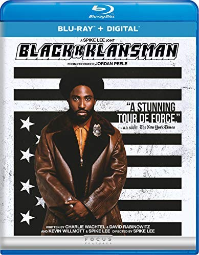 Blackkklansman Washington Driver Blu Ray DVD Dc R