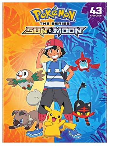 Pokemon Sun & Moon/Complete Collection@DVD@NR