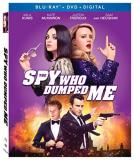 The Spy Who Dumped Me Kunis Mckinnon Blu Ray DVD Dc R