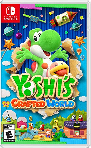 Nintendo Switch Yoshi's Crafted World