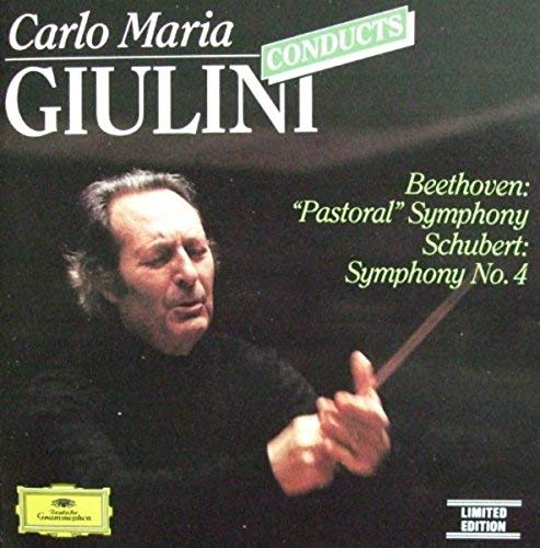 "Carlo Maria Giulini Beethoven Schubert Los Angeles Giulini Conducts Beethoven Symphony No. 6 ""pastor"