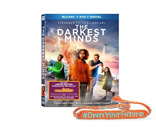 The Darkest Minds Stenberg Moore Dickinson Blu Ray DVD Dc Pg13