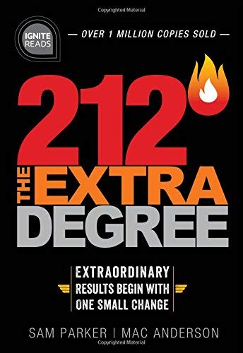 Sam Parker 212 The Extra Degree Extraordinary Results Begin With One Small Change 0002 Edition;trade