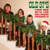 Old 97's Love The Holidays Red Green Splatter