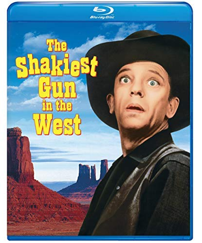 The Shakiest Gun in the West/Knotts/Rhoades@Blu-Ray MOD@This Item Is Made On Demand: Could Take 2-3 Weeks For Delivery