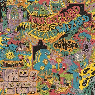 King Gizzard & The Lizard Wizard Oddments (purple Vinyl) Grimace Purple Vinyl