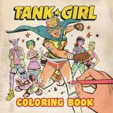 Alan Martin Tank Girl Coloring Book