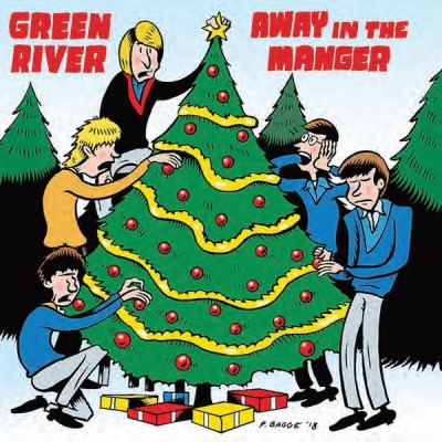 "Green River & U Men ""away In A Manger Blue Christmas"" Rsd Black Friday 2018"