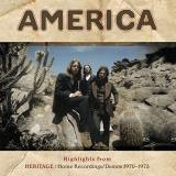 America Highlights From Heritage Home Recordings Demos 1970 1973 Rsd Black Friday 2018