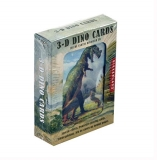 Cards Kikkerland 3 D Dinosaurs Lenticular Playing Card