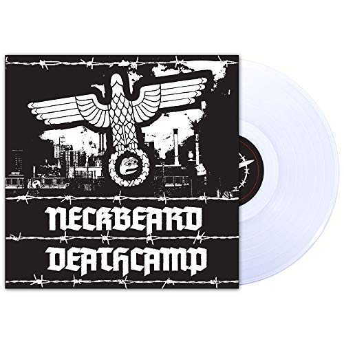 Neckbeard Deathcamp White Nationalism Is For Basement Dwelling Losers Limited Edition Clear Vinyl