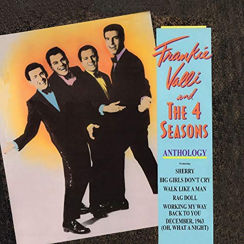 Frankie & The Four Seasons Valli Anthology Greatest Hits 180 Gram Audiophile Vinyl Limited Anniversary Edit