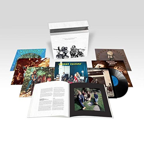 Creedence Clearwater Revival Complete Studio Albums (half Speed Masters) 7 Lp Deluxe Box Set