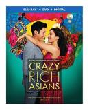 Crazy Rich Asians Wu Golding Yeoh Blu Ray DVD Dc Pg13
