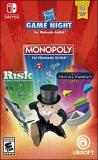 Nintendo Switch Hasbro Game Night (monopoly Risk Trivial Pursuit)