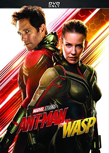 Ant Man & The Wasp Rudd Lilly DVD Pg13