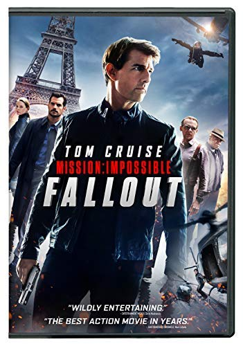 Mission Impossible Fallout Cruise Cavill Rhames Pegg Ferguson DVD Pg13