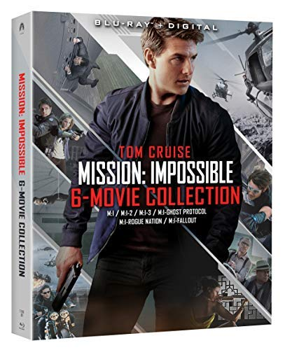 Mission Impossible 6 Movie Collection Blu Ray Nr